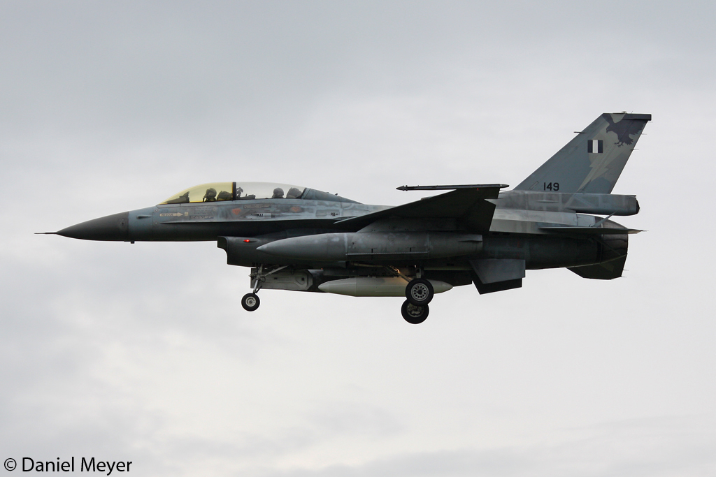 Greece - Air Force General Dynamics F-16B Fighting Falcon 149 in Geilenkirchen am 15.06.2012