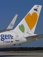 Aviation Day 2010 CGN/64998/das-heck-von-willi--aufgenommen Das Heck von 'Willi' , aufgenommen beim Aviation Day 2010 in CGN am 18.04.2010